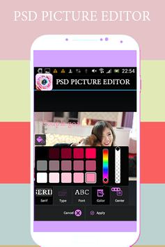 PSD Picture Editor apk screenshot