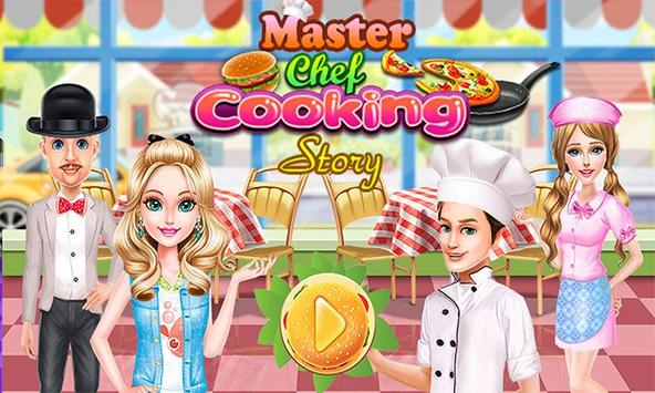 Master Chef Cooking story poster