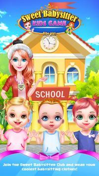 Sweet babysitter - Kids game poster