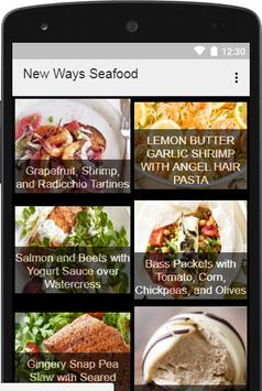 New Ways to Prepare Fish and Seafood apk screenshot