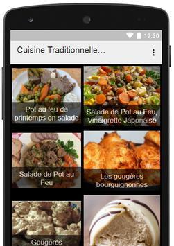 Cuisine Traditionnelle Francaise apk screenshot