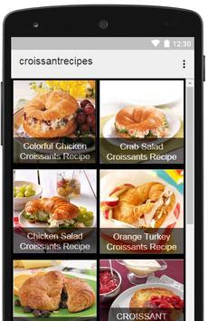 Croissant Recipes apk screenshot