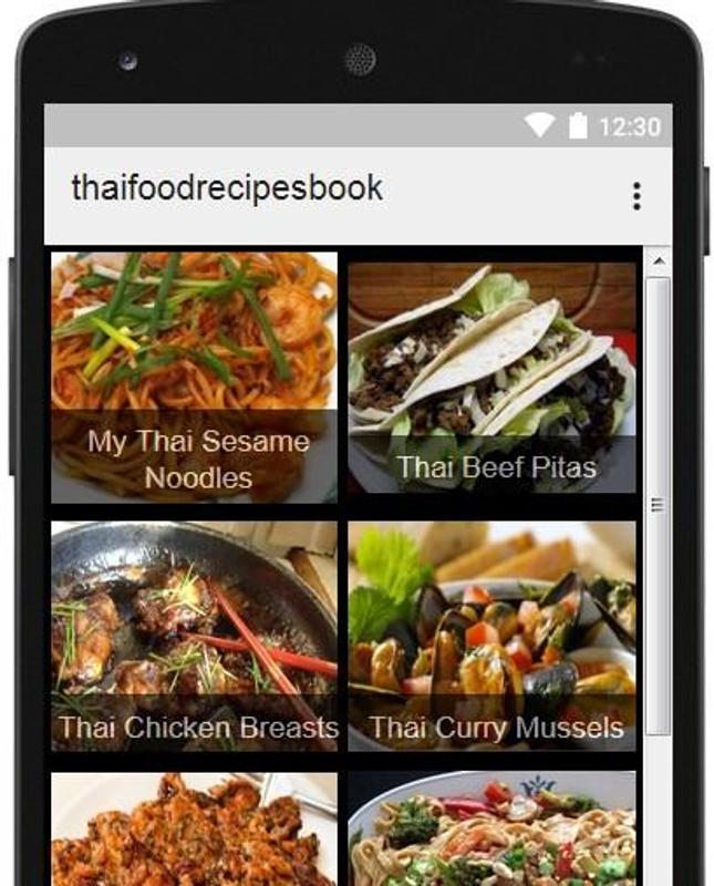 Thai food recipes book for android apk download thai food recipes book thai food recipes book 1 forumfinder Images