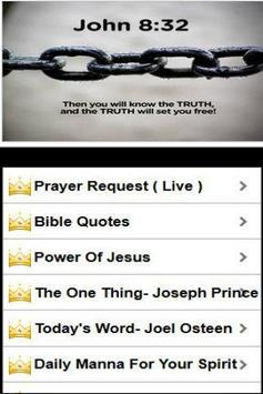 Prayer and healing poster
