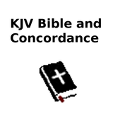 KJV Bible and Concordance icon