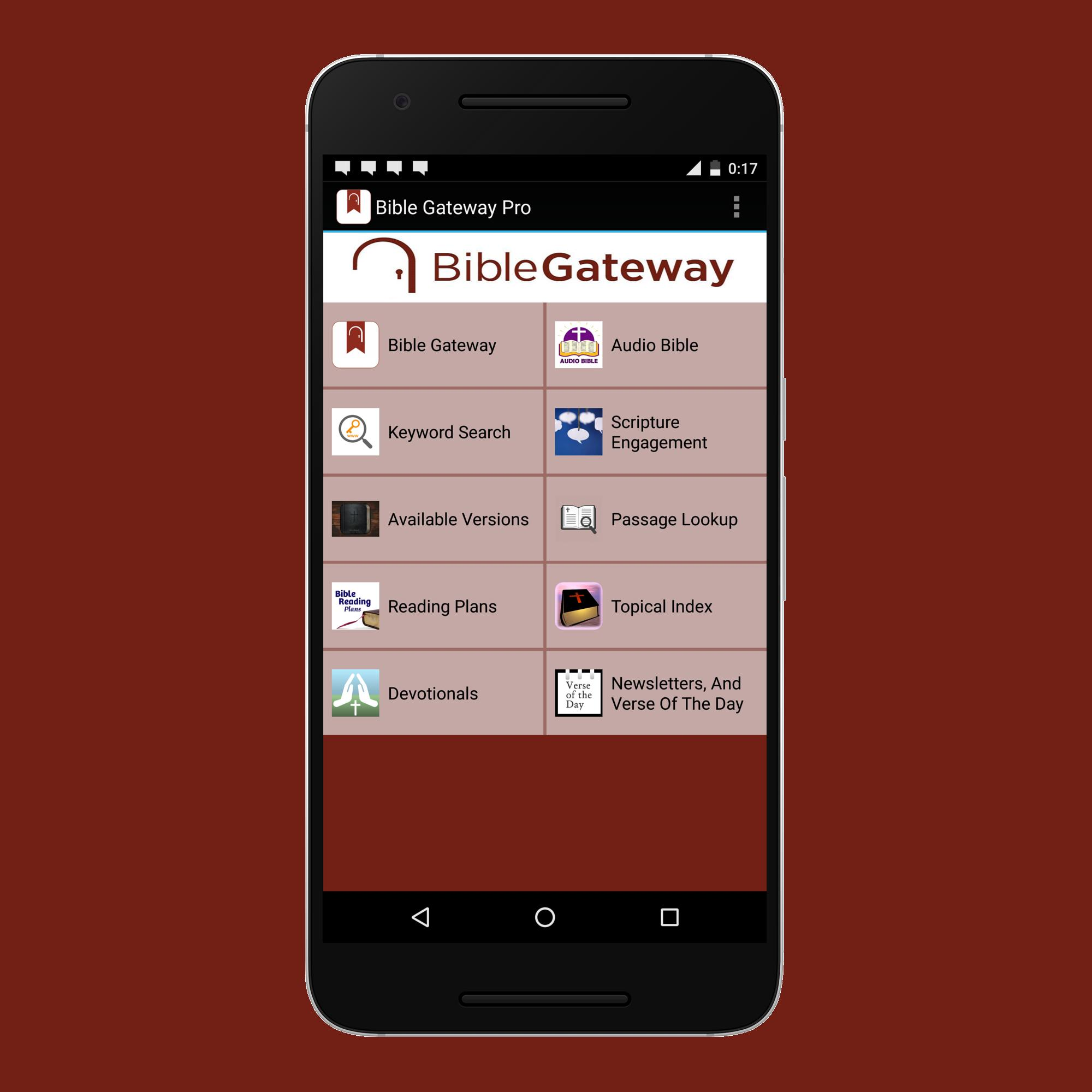 Bible Gateway Pro for Android - APK Download