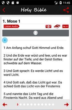 German Bible Audio apk screenshot