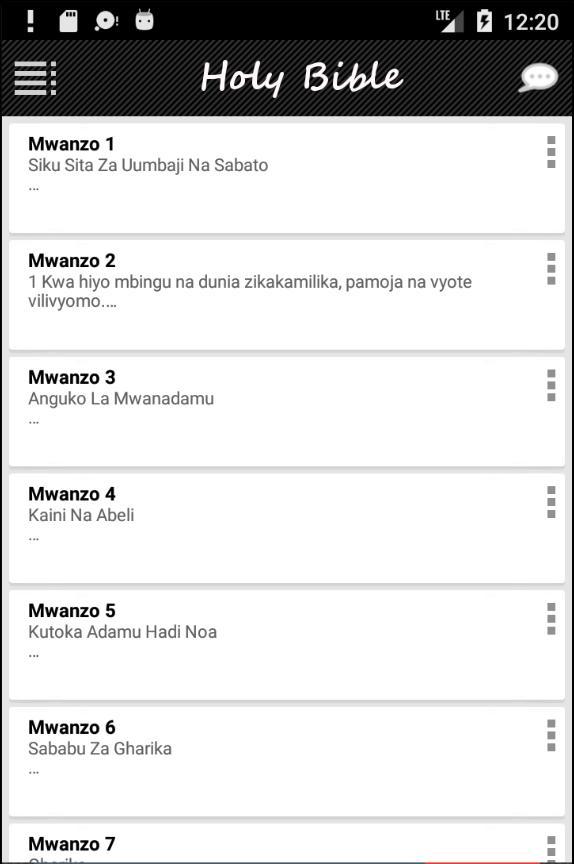 Biblia Takatifu Swahili For Android Apk Download