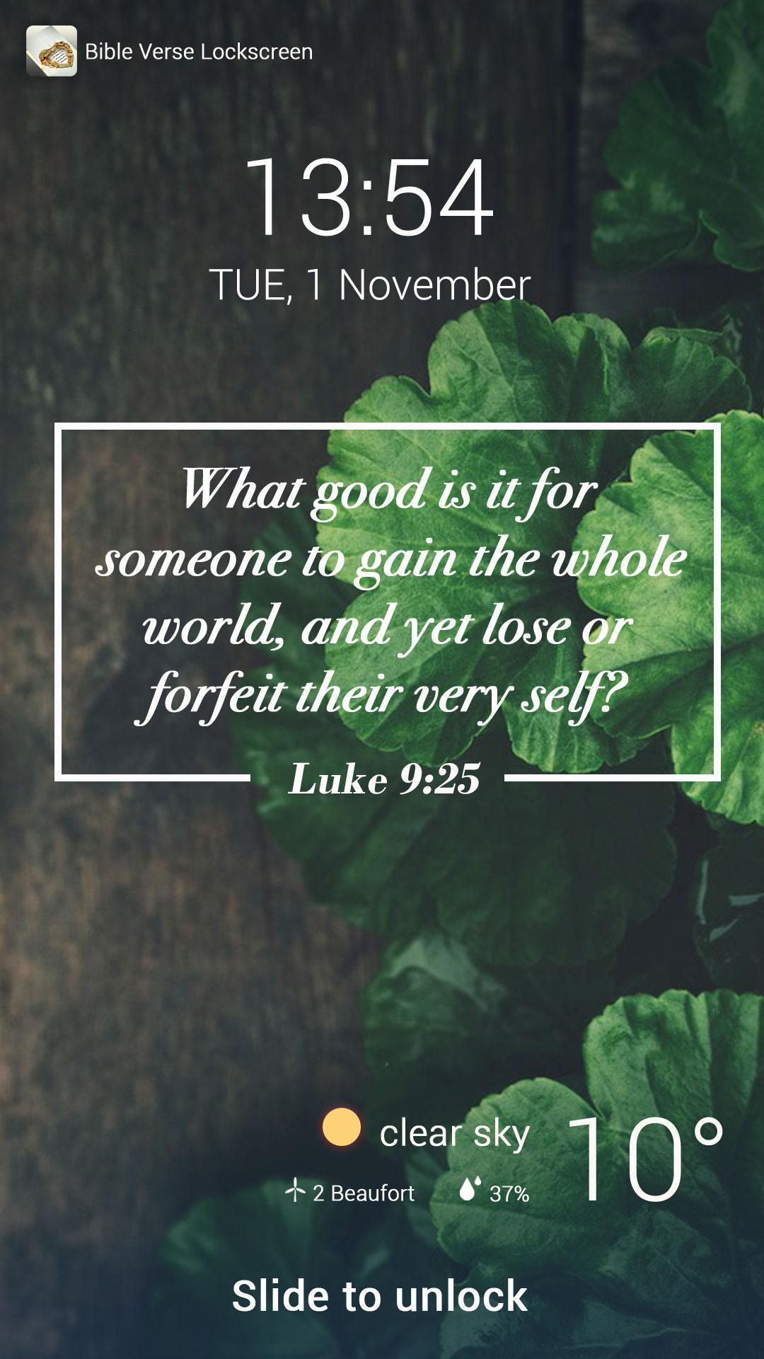 Bible Verse Lock Screen For Android Apk Download