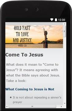 Christianity and Bible Facts screenshot 1