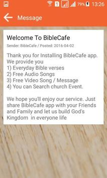 BibleCafe apk screenshot
