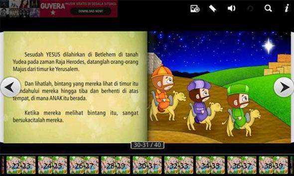 Alkitab Anak NATAL Yesus Lahir apk screenshot