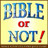 Bible or Not® Bible Quiz Game icon
