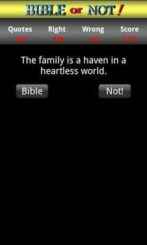 Bible or Not® Bible Quiz Game screenshot 3