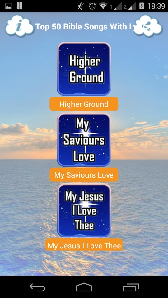 Top 50 Bible Songs with Lyrics for Android - APK Download
