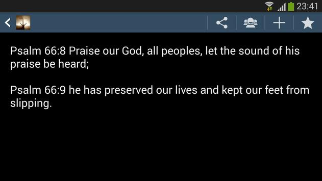 Prayers of Bible poster