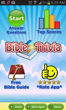 Bible Trivia Quiz Free Bible G poster