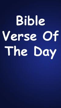 Bible Verse of The Day poster