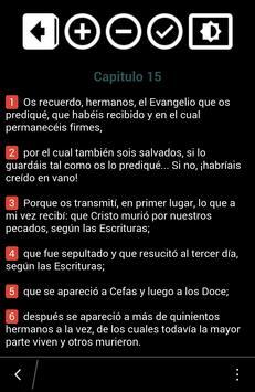 La Biblia Católica poster