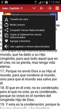 Biblia Reina Valera screenshot 3