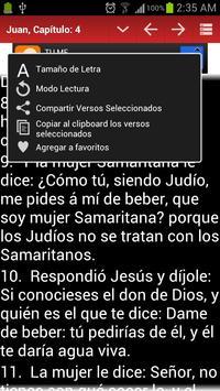 Biblia Reina Valera screenshot 4
