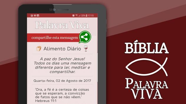 Bíblia Palavra Viva apk screenshot