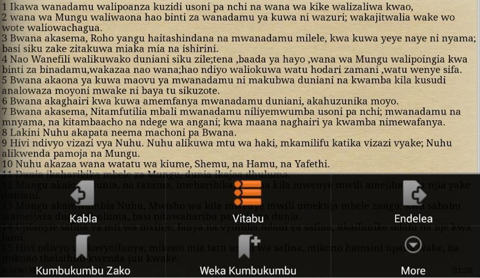 Biblia Takatifu Holy Bible For Android Apk Download