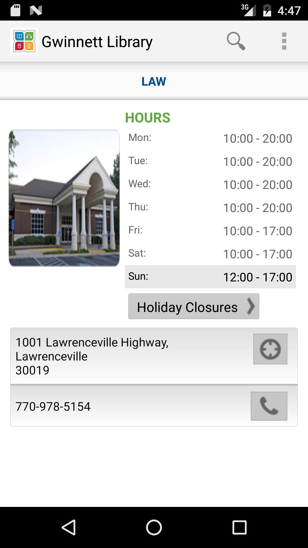 Gwinnett Library for Android - APK Download