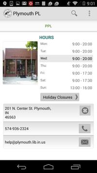 Plymouth Public Library apk screenshot