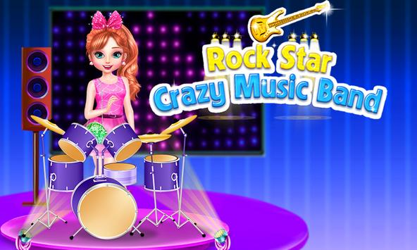 Rock Star Crazy Music Band poster