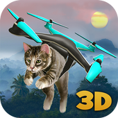 Island Drone Flight Simulator icon