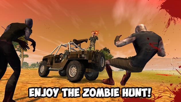 Zombie Shooting Hunting Safari poster