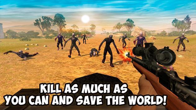 Zombie Shooting Hunting Safari screenshot 11