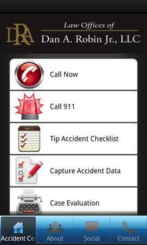 Dan Robin Personal Injury App poster