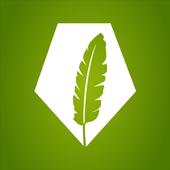 Poetry Now Irish Language App icon