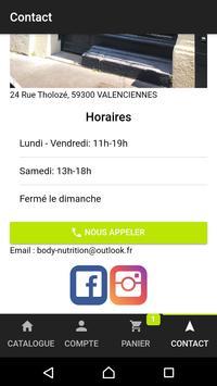 Body Nutrition Valenciennes screenshot 4