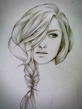 How to Draw Realistic Hair screenshot 4