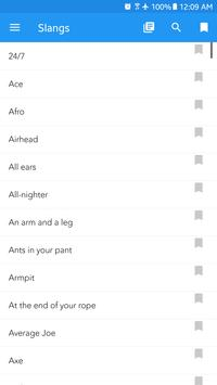 English Idioms, Phrases, Slang and Common Verbs screenshot 2