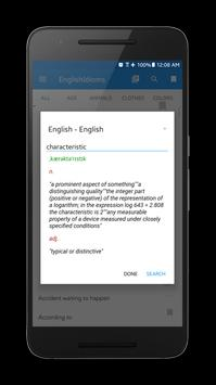 English Idioms, Phrases, Slang and Common Verbs screenshot 5