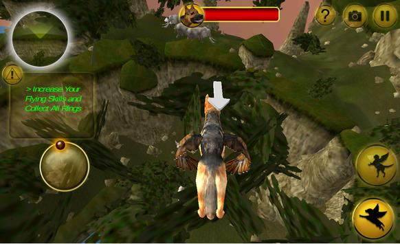Flying Dog - Wild Simulator apk screenshot