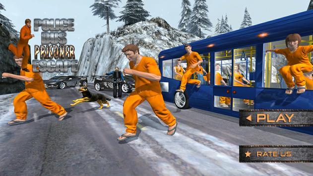 Police Bus Prisoner Escape poster