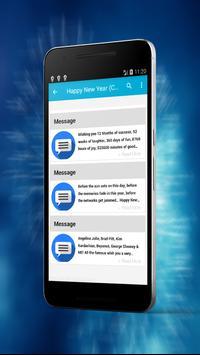 Top Happy New Year Best Messages 2018 screenshot 3