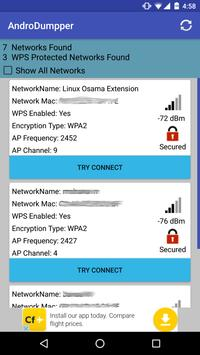 AndroDumpper Wifi ( WPS Connect ) poster