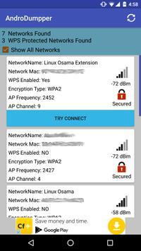 AndroDumpper Wifi ( WPS Connect ) apk screenshot