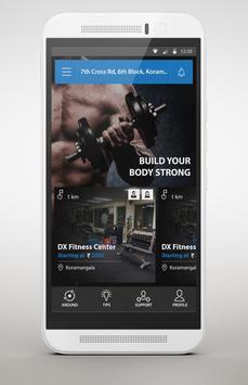 Moveza Fitness screenshot 1