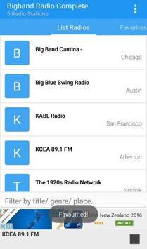 Big Band Radio Complete poster
