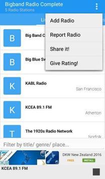 Big Band Radio Complete apk screenshot