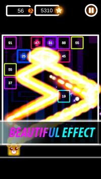Brick Breaker Neon: Classic Space Invader screenshot 3