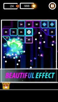 Brick Breaker Neon: Classic Space Invader screenshot 2