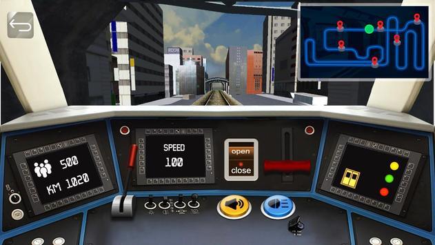 Driving Subway Simulator पोस्टर